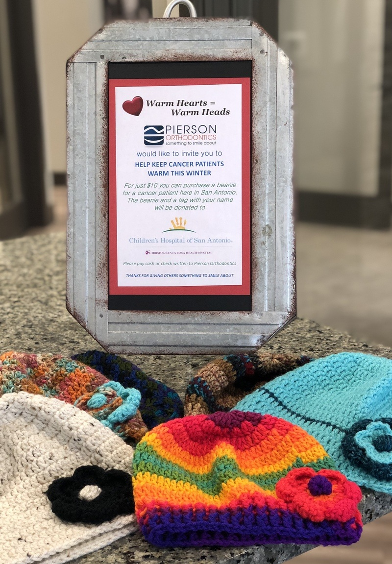 Beanies for cancer patients program